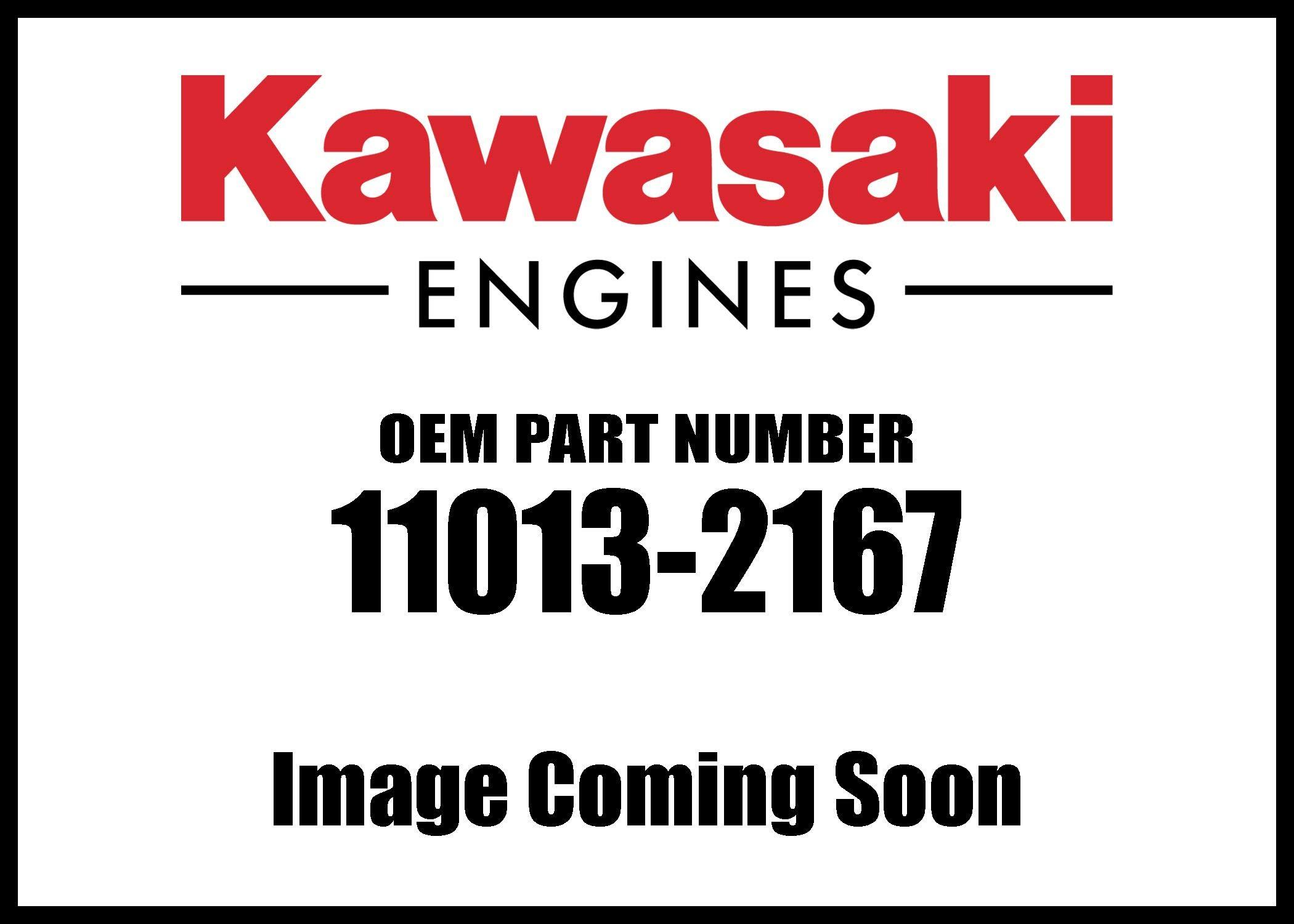 Kawasaki Engine Element Air Filterth1 11013-2167 New OEM