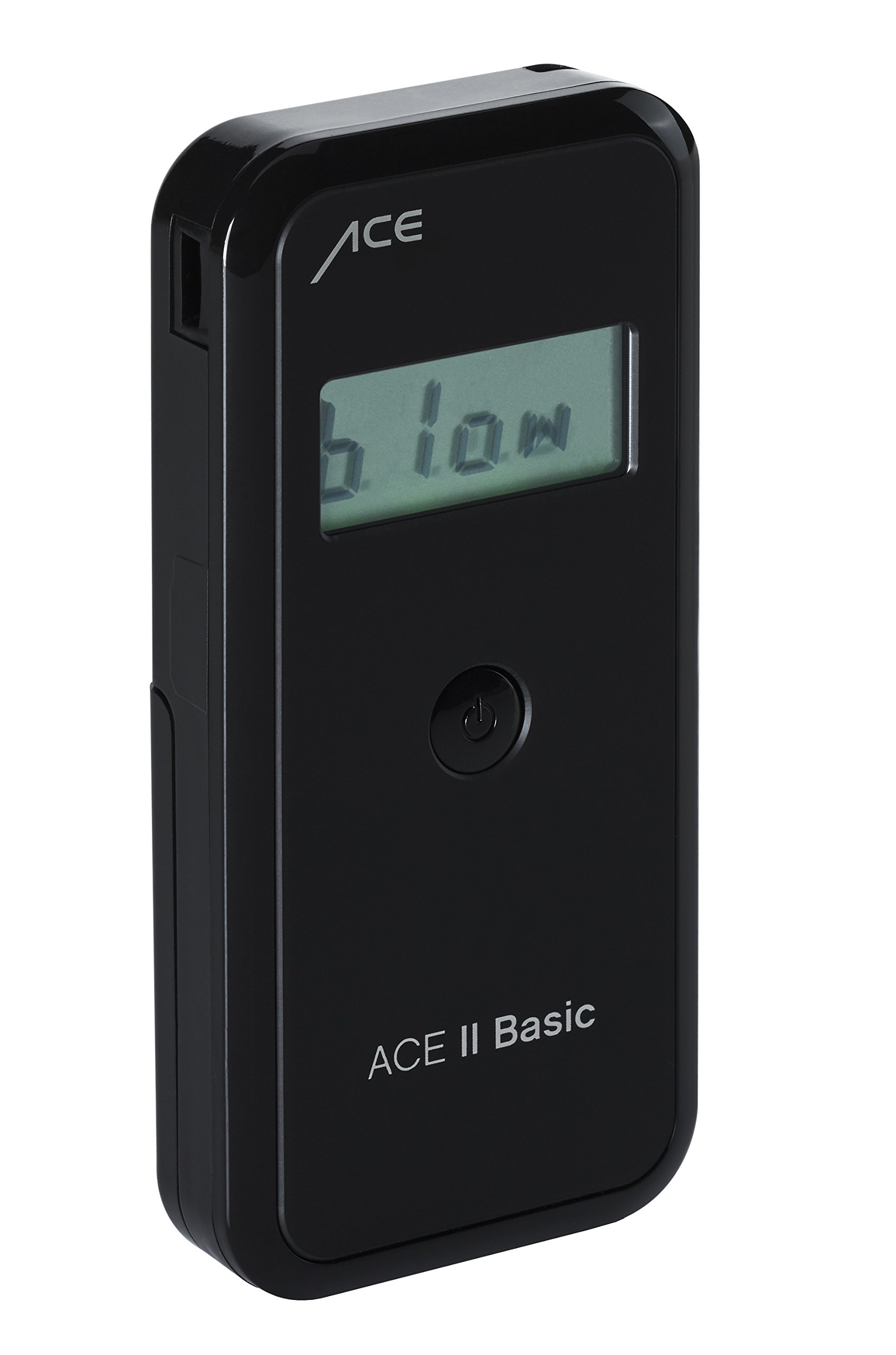 ACE II Basic Professional Digital Breathalyzer with Hard Case - DOT Tested Portable Breath Alcohol Tester