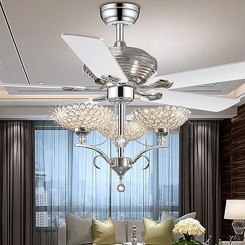 52 inch Crystal Ceiling Fan Chandelier Fandelier