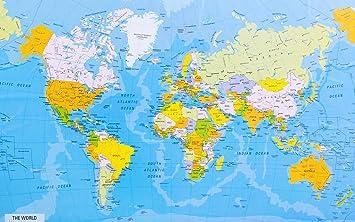 carte-du-monde-detaillee - Photo