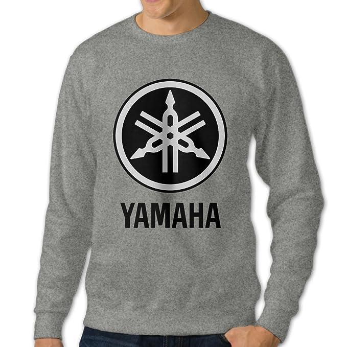 Amazon.com: mnstk Yamaha de manga larga cuello redondo ...