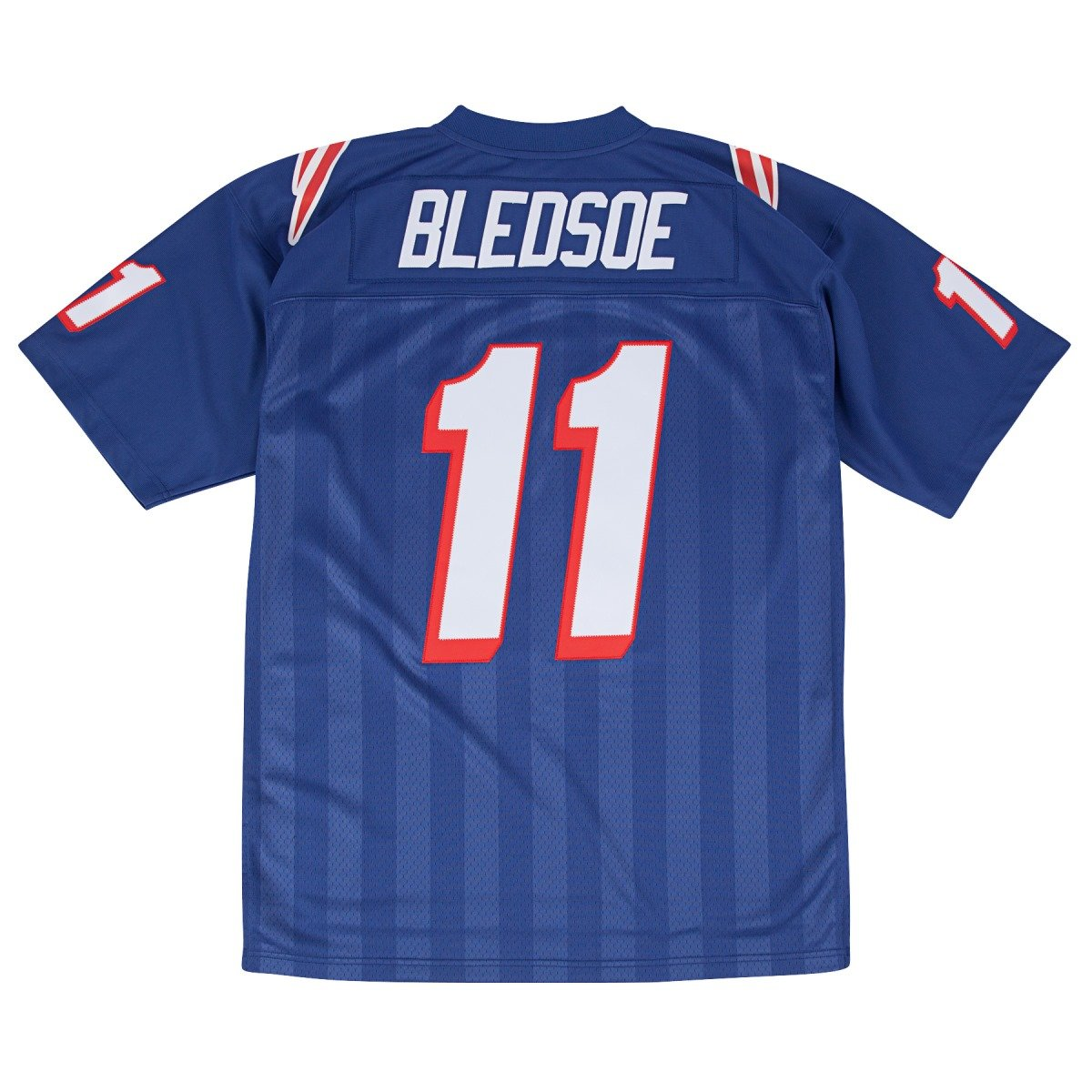 more photos ccd6b 95b75 Mitchell & Ness Drew Bledsoe New England Patriots Men's NFL Premier Blue  Jersey
