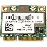 802.11ac対応 Broadcom BCM94352HMB BCM4352 802.11a/b/g/n/ac WLAN + Bluetooth PCI-E Mini 無線LANカード Dell DW1550