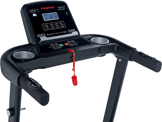 Moma Bikes Cinta de Correr 1500W, pulsometro cuadruple Sensor ...