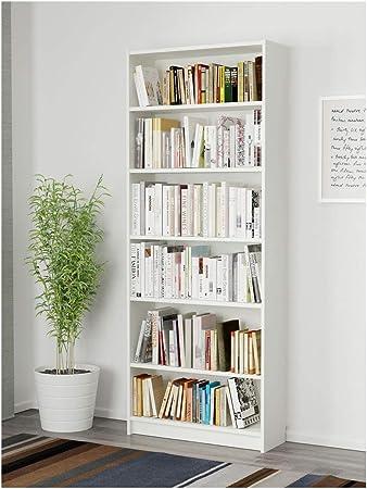 IKEA BILLY estantería 80x28x202 cm blanco: Amazon.es: Coche y ...