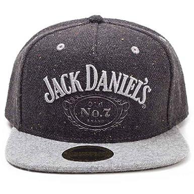 83e244bb5a9 Amazon.com  Jack Daniels Baseball Cap Black Classic Logo Official ...