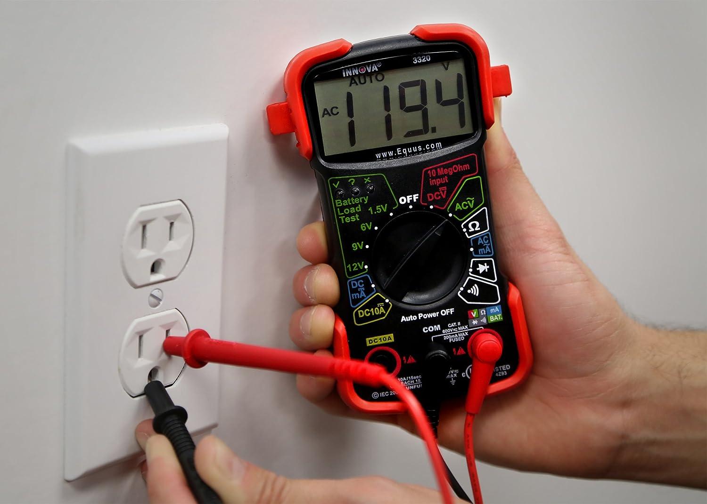 Innova 3320 Auto Ranging Digital Multimeter Automotive Electrical Circuit Tester 9v Battery Ebay