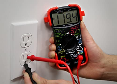 The INNOVA 3320 is an entry-level multimeter that is surprisingly useful despite being extremely easy to use.