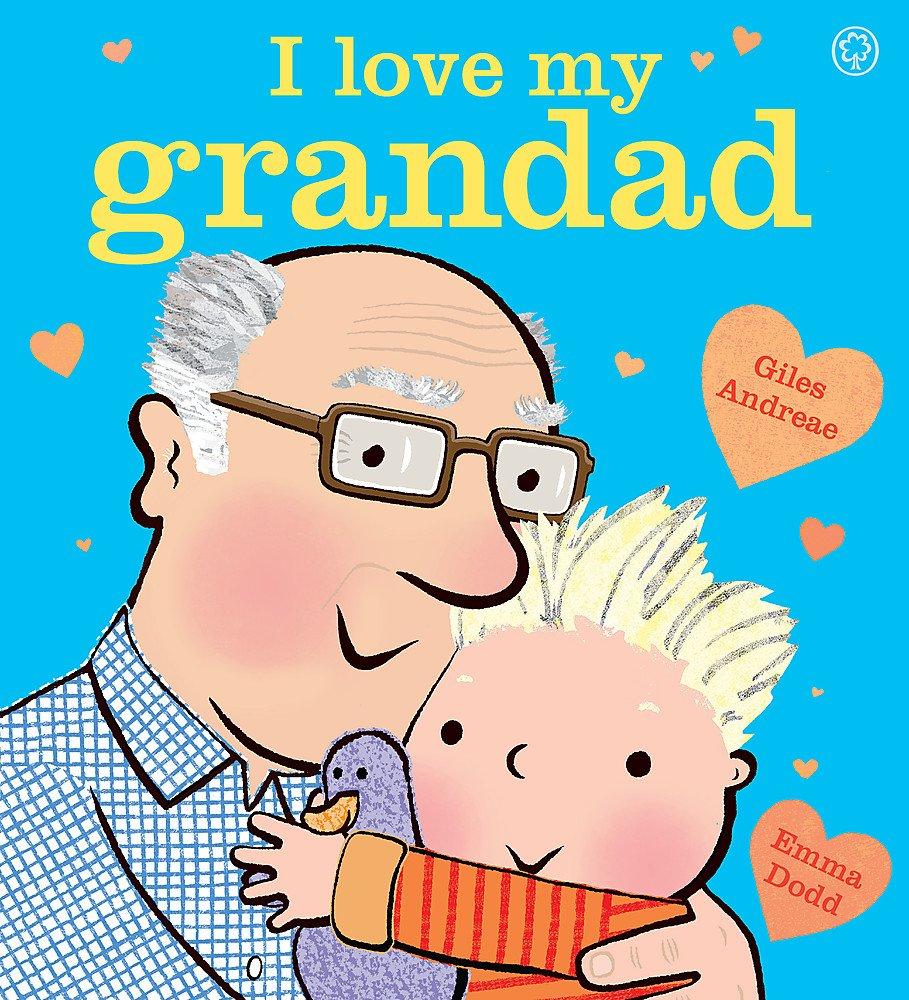 I Love My Grandad Board Book