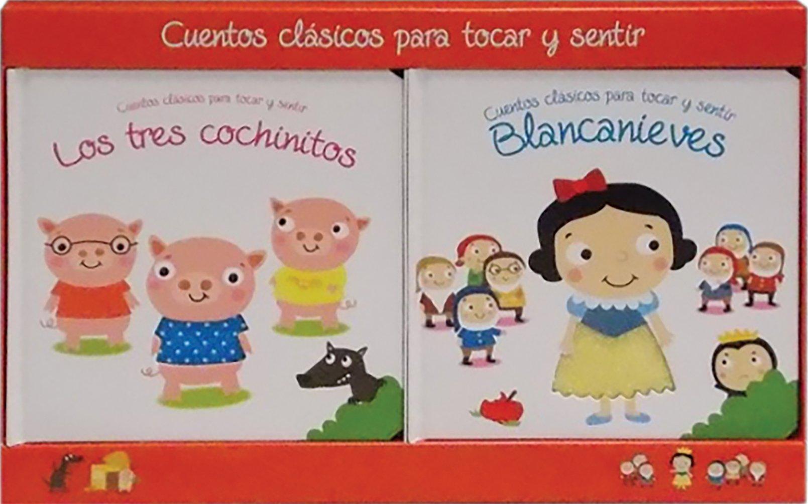 Cuentos clasicos toca y siente 2-pack 1: Amazon.es: Libros