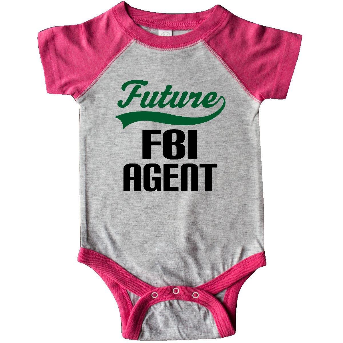 90e1fafe270 Amazon.com  inktastic - Future FBI Agent Childs Gift Infant Creeper 2de9f   Clothing
