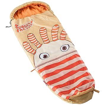 Skandika Sorgenfresser Saggo saco dormir niños 170 cm naranja/beig -12°C nuevo: Amazon.es: Deportes y aire libre
