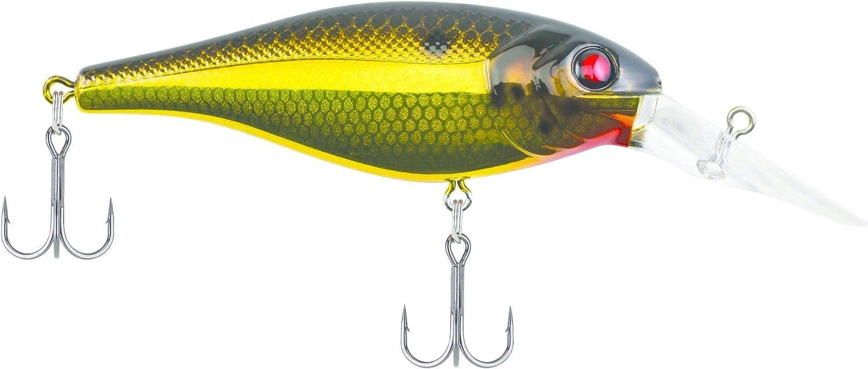 Berkley WakeBull 60//70 Waking Shallow Squarebill Crankbait Bass Fishing Lure