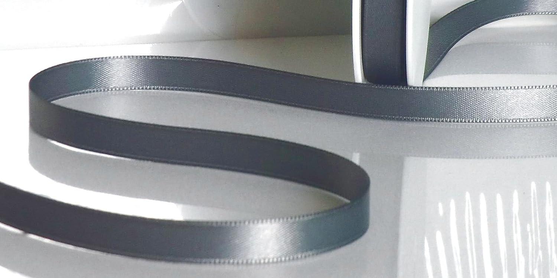 50m x 3mm wei/ß Schleifenband Geschenkband DEKOBAND weiss SATINBAND Doppelsatinband