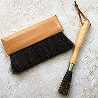 فرشاة تنظيف ماكينة تحضير القهوة من تي كيه، اداة تنظيف يدوية منزلية لماكينة تحضير الاسبريسو ذات مقبض من الخشب وشعيرات…