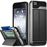 iPhone 6S Wallet Case, Vena vCommute Drop Protection Flip Leather Cover Card Slot Holder with Kickstand for Apple iPhone…