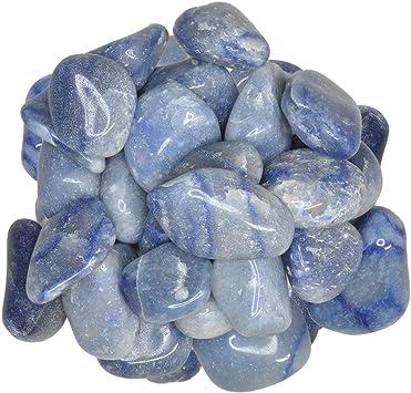 Digging Dolls Tumbled /& Polished Rocks! 12 lb of XXSmall Blue Quartz B Grade Stones from Brazil