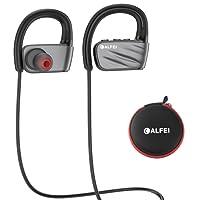 Cuffie bluetooth IPX7 impermeabile – wireless sport Headset CALFEI  auricolari con microfono incorporato HD stereo, cancellazione del rumore per corsa palestra running Working out 8 ore