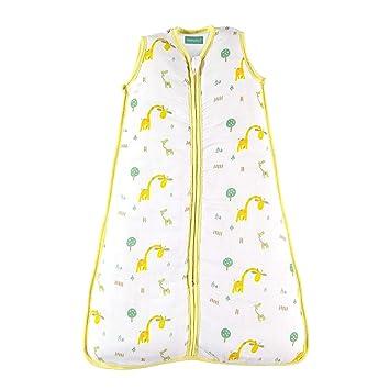 Unisex Kiwi Print 1.0 TOG Lightly Padded Baby Sleeping Bag molis/&co Super Soft and Warm Premium Muslin Grow Bag for Babies. 0-6 Months