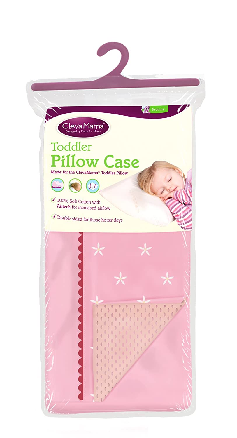 Clevamama Replacement Toddler Pillow Case (Pink) 7510
