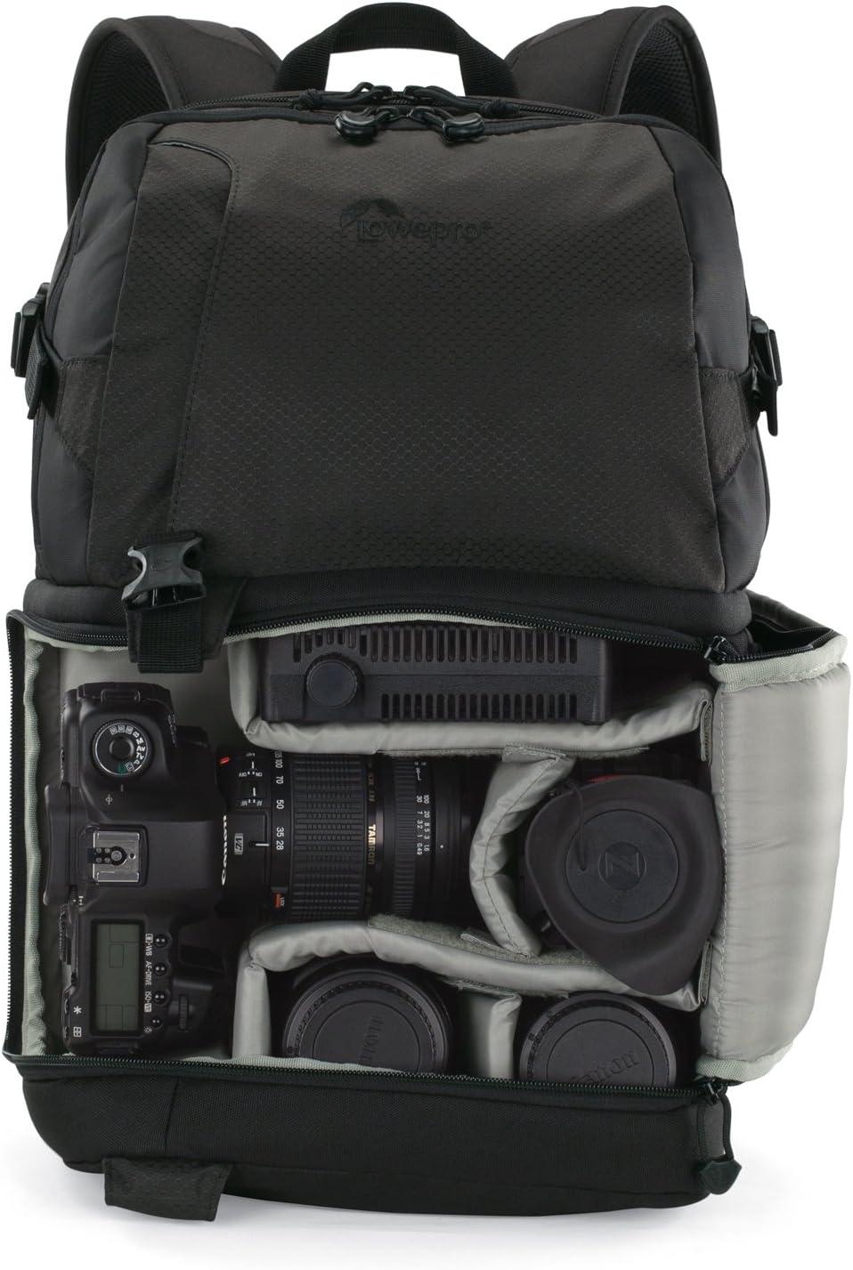 Lowepro LP36393-PAM - Mochila para cámara DSLR (250 AW), Negro ...