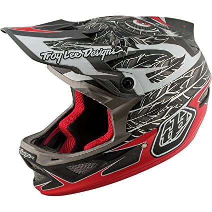 26b1e95f Troy Lee Designs Composite Nightfall Adult D3 Bike Sports BMX Helmet -  Black/X-