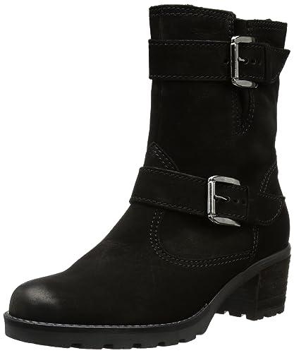 Gabor Shoes Comfort 72.804.47, Damen Stiefel, Schwarz (schwarz (Mel ... 6af8d90057