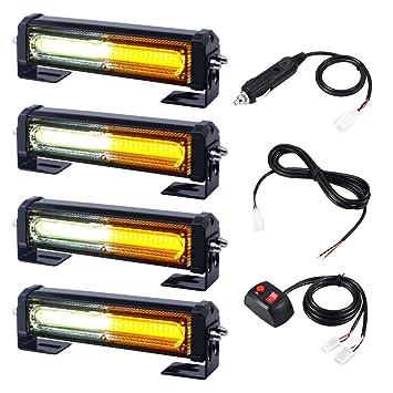 Amazon.com: WOWTOU - Parrilla de luz LED de emergencia para ...