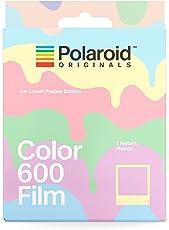 Polaroid Originals 4847 Instant Color Film for 600 - Ice Cream Edition, Pastel