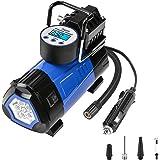 DEKO Portable Air Compressor Pump,12V Digital Tire Inflator by 140 PSI