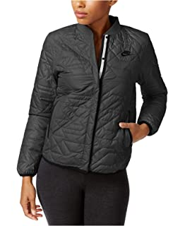 d62edf2dd190 Nike Womens Quilted Insulated Primaloft Jacket River Rock at Amazon ...