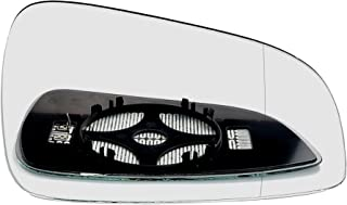 Driver right hand side Heated wing door Silver mirror glass with backing plate #W-SHY/R-OLASAJ09