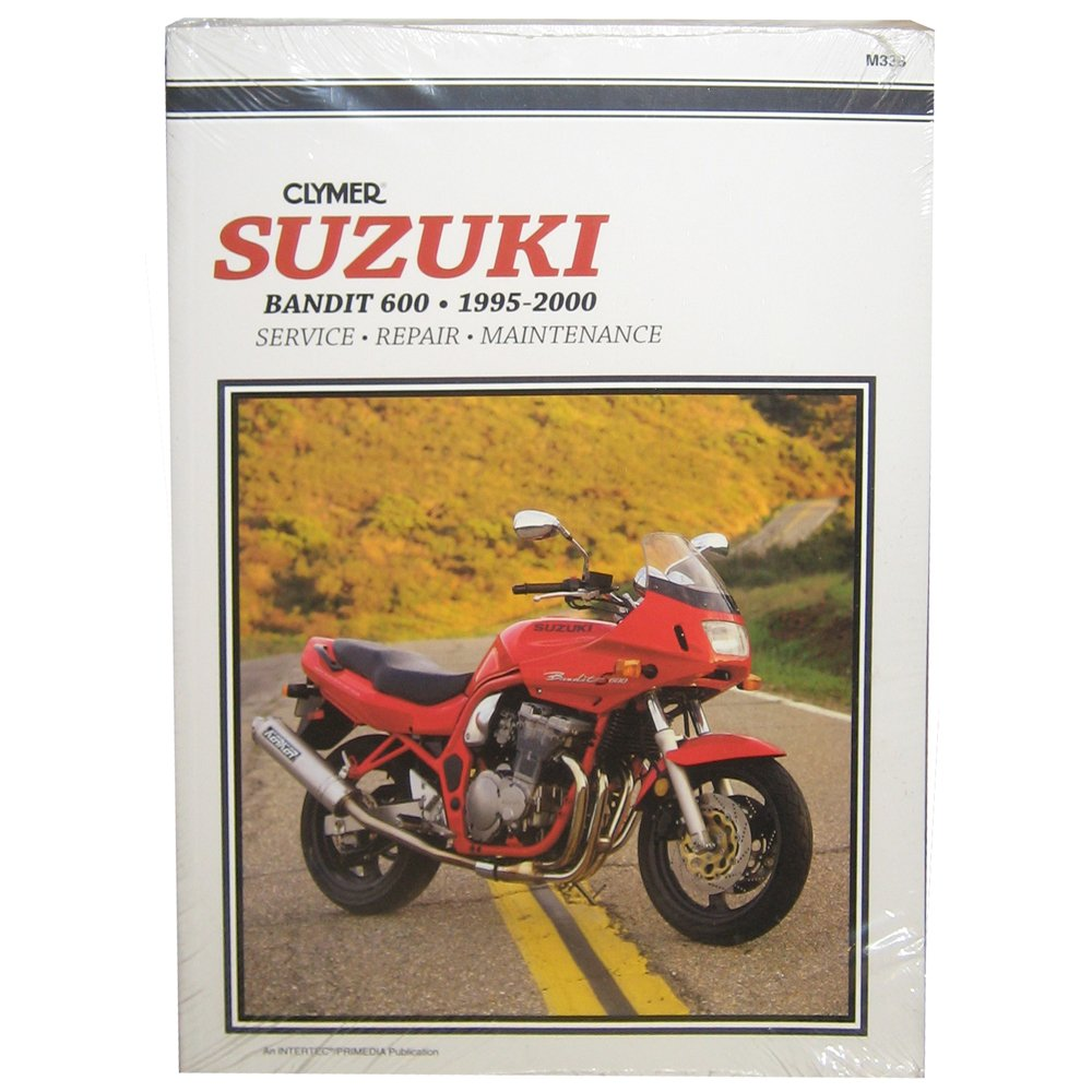 Amazon.com: Clymer Repair Manual for Suzuki GSF600 GSF-600 Bandit 95-00:  Automotive