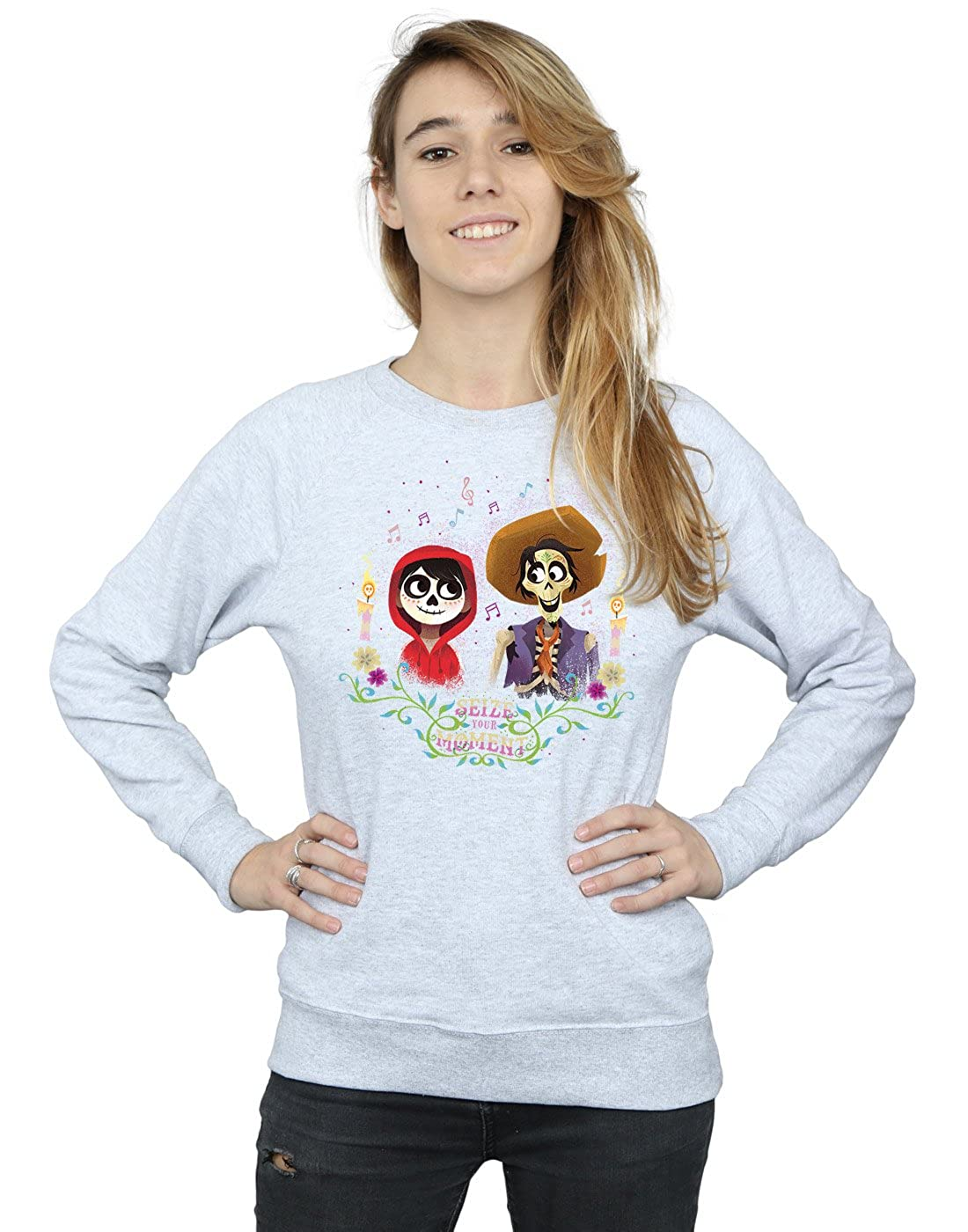 Disney Femme Coco Miguel and Hector Sweat-Shirt