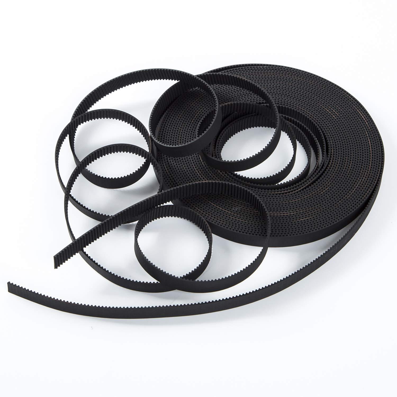 S.Y.M 3D Printer Printer Accessories Pen Timing Belt 10mm Width Rubber Fiberglass for 3D Printer (Opened-Belt) 5M by S.Y.M (Image #4)