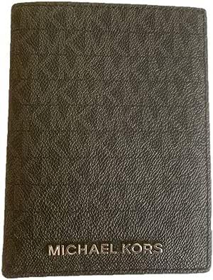 Michael Kors Jet Set Travel Passport Holder Wallet Case PVC 2019 (Black 2019)