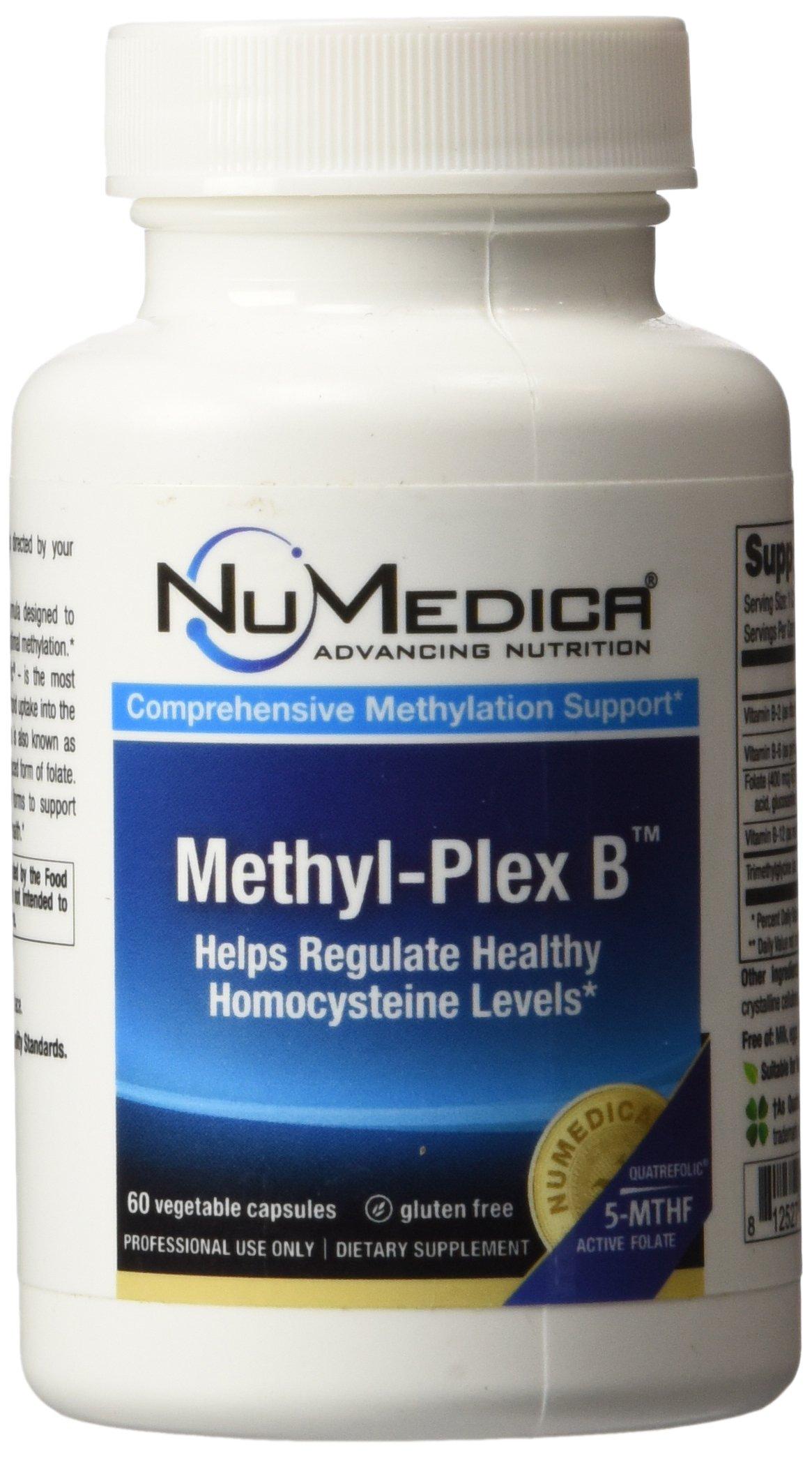 NuMedica Methyl-Plex B 60 Vegetable Capsules by NuMedica