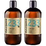 Naissance olio di Jojoba d'Oro 1L (2x500ml) - puro al 100%, Pressato a Freddo, Vegan, Cruelty Free, senza OGM, per l'idratazione della pelle e dei capelli