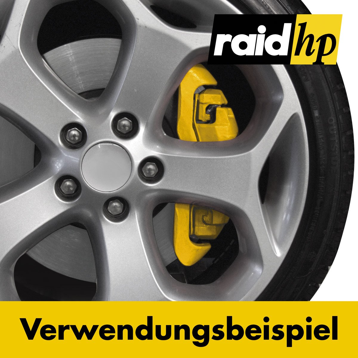 raid hp 350005 Bremssattellack Set GR/ÜN-GL/ÄNZEND