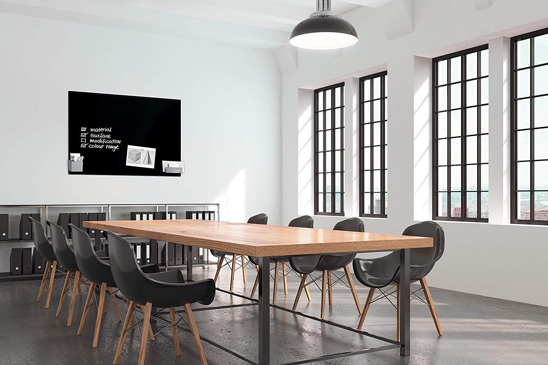 weitere Gr/ö/ßen//Farben SIGEL GL241 Gro/ßes Glas-Magnetboard 130 x 55 cm super-wei/ß Whiteboard Artverum Magnettafel