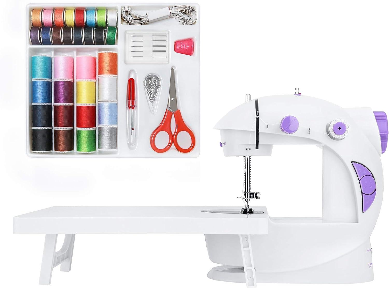 KPCB Máquina de Coser con Kit de Costura y Mesa de Extensión