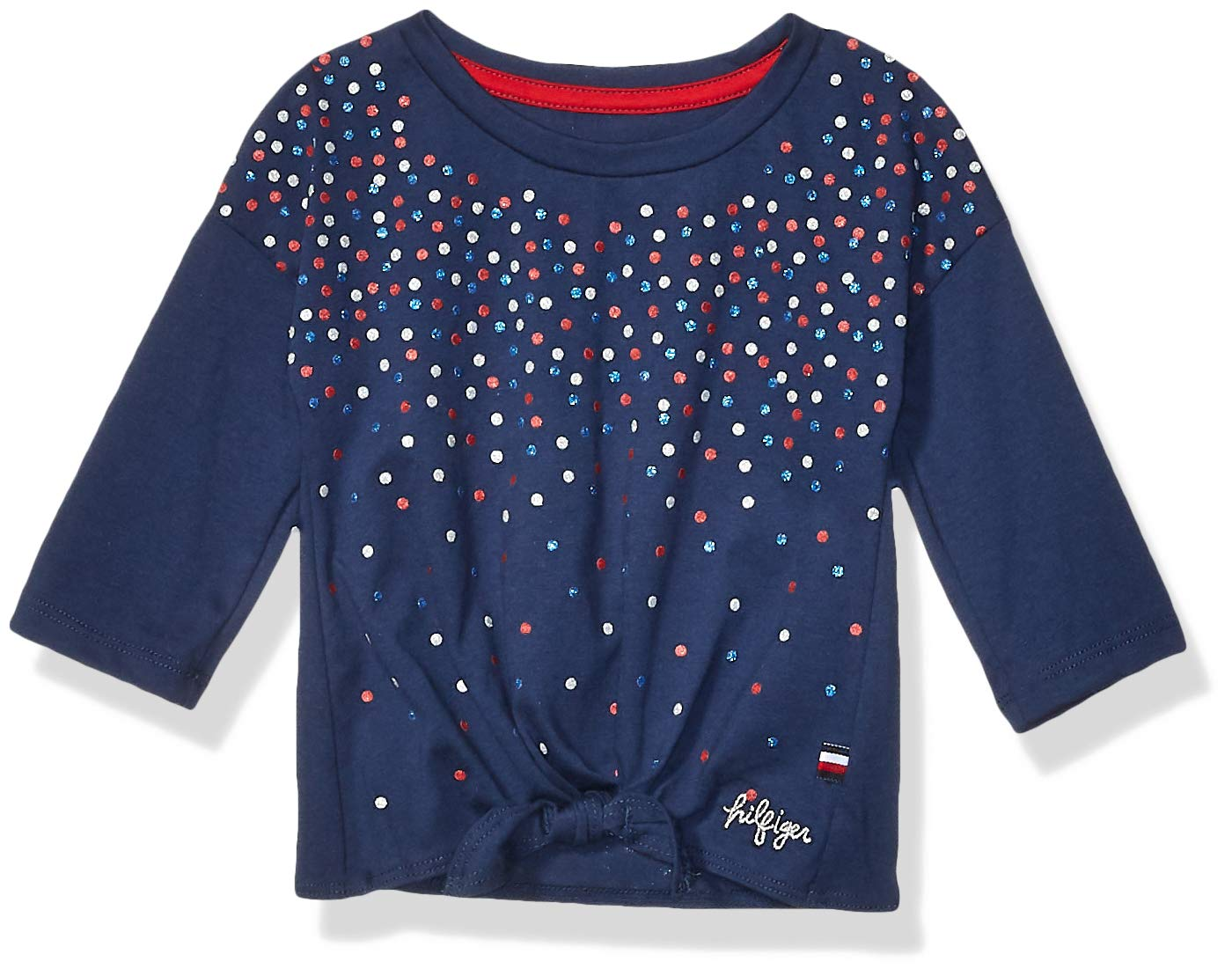 Tommy Hilfiger Girls' Core Crew Neck Tee Shirt