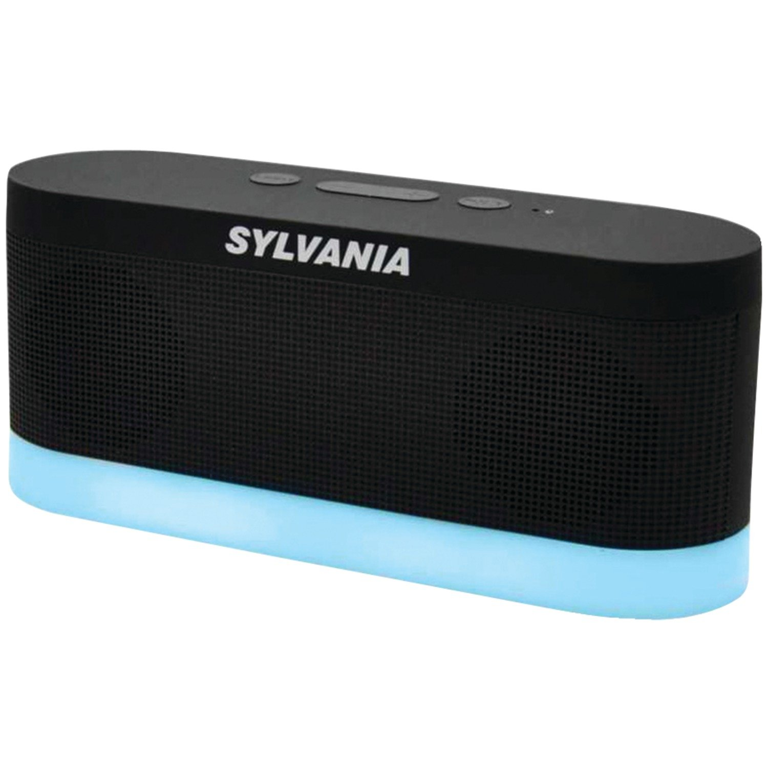 Amazon.com: Sylvania SP136-black Bluetooth Moonlight Speaker with 7-Color  Changing LED Lights (Black): Home Audio & Theater