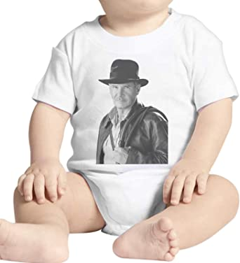 Body bebé Fashion Indiana Jones Film Aventuras Harrison Ford – Blanco Blanco Bianco: Amazon.es: Ropa y accesorios