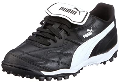 2c759bbb4204 Puma Mens Esito Classic TT Football Shoes, Black - Schwarz (black-white 01