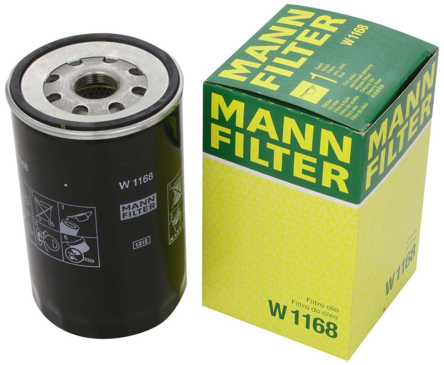 Mann Filter W1168 Filtro de Aceite