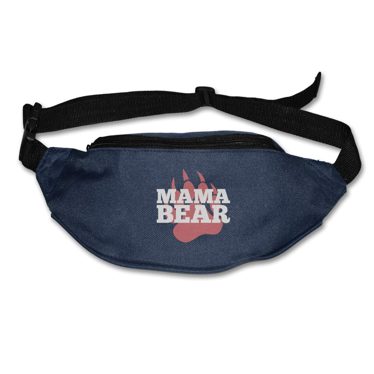 Mama Bear 5 Sport Waist Packs Fanny Pack Adjustable For Run