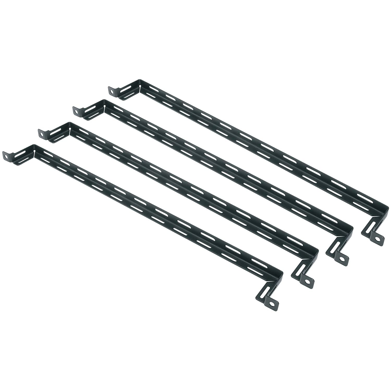 Middle Atlantic Essex by LB-2A-4PK L Shaped 2 Offset Lacing Bar - 4 Pack Middle Atlantic Products