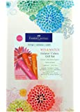 Faber-Castell Design Memory Craft Gelatos Gift Set, Acid-Free Pigment Sticks for Mixed Media and Stamping, 34 piece