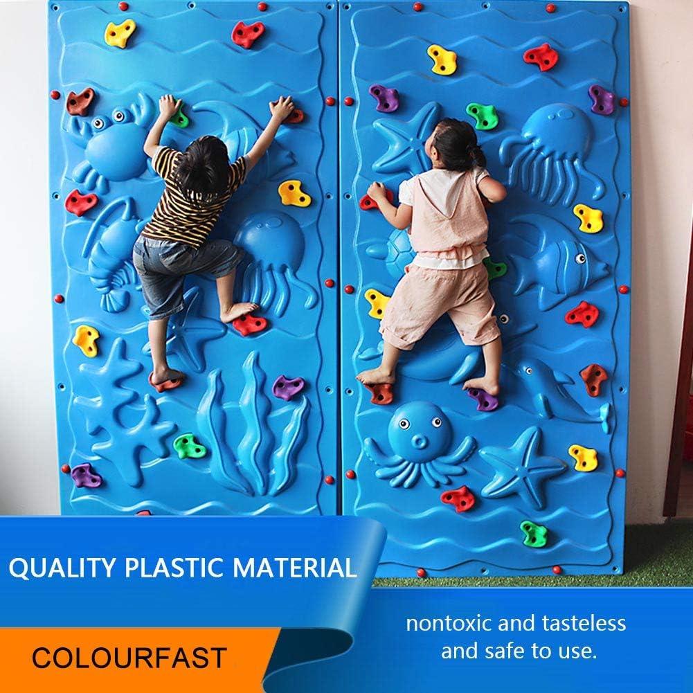 Zerone Piedras Escalada, Escalar Kit para Niños Mix 10pcs o 20pcs, Accesorios para Paredes de Escaladas de Interior y Exterior